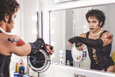 David Badella as Dr. Frank N Furter in the Rocky Horror Show. IMO, nobody will fill Tim Curry's sparkly heels, but this guy comes a close second ; Rocky Horror Show, The Rocky Horror Picture Show, Shock Treatment, European Tour, Attractive People, Celebs, Celebrities, Musical Theatre, Actors & Actresses