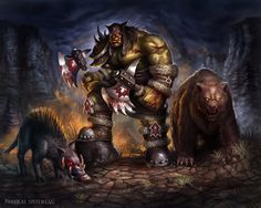 Rexxar by ~Nimao on deviantART