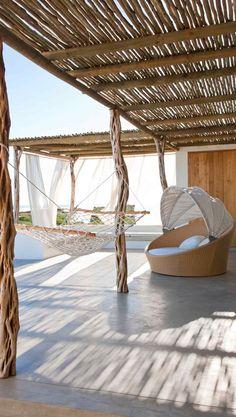 Bamboo Decking, Pool Plaster, Outdoor Restaurant, Outdoor Living, Outdoor Decor, Terrace Garden, Outdoor Areas, Outdoor Entertaining, Inspired Homes