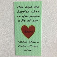 Magnet Gift for my group counseling peers at CSUDH :)