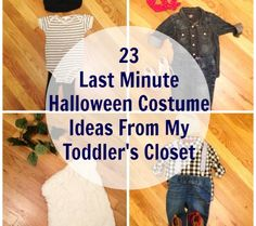 23 last minute halloween costume ideas from my toddlers closet everything from rosie the riveter - Last Minute Toddler Halloween Costumes