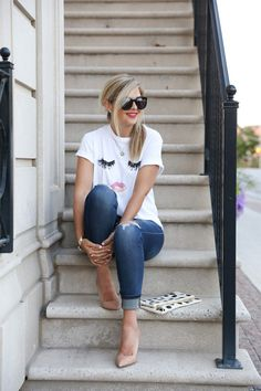 15 cool ways to wear a graphic tee this spring