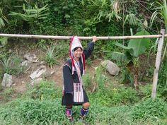 Traditional Akha clothing