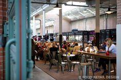 Fotoreportage van de Foodhallen Amsterdam