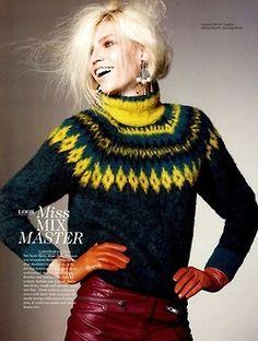 stormtrooperfashion: Aline Weber for H Magazine, Fall 2012