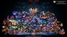 Wallpaper Desktop/PC Mobile Legend HD All Hero by FachriFHR