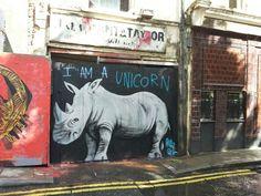 I am a unicorn. Pure Evil. Ravey Street
