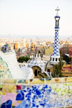 #PANDORAloves the quirky and original Gaudi buildings in Barcelona, Spain #gaudi #travel #barcelona