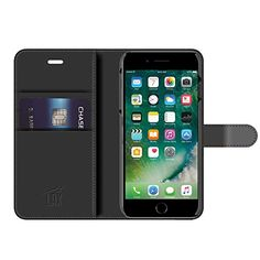 iPhone 7 Case LAX Premium Folio iPhone Wallet Cover for Apple iPhone 7  6s  6 2016 Protective PU Leather Flip Cover with Card Slot  Side Pocket Stand and Magnetic Lock >>> You can find more details by visiting the image link.