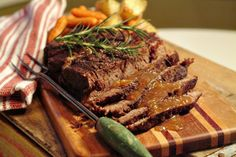 What can you say about pot roast? Nearly everyone likes it. Especially children. It's easy, fairly inexpensive and even beginner cooks can be successful with a pot roast. It's nearly as homey and comforting as a meatloaf and takes lots less prep time.