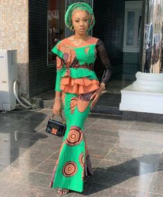 Looking for modern ankara styles to sew for your events? We have 30 latest Ankara style designs people are loving at this time you can look at. Nigerian Ankara Dresses, Ankara Long Gown Styles, Latest Ankara Styles, Latest African Fashion Dresses, African Print Dresses, African Print Fashion, African Dress, Ankara Gowns, Ankara Fashion