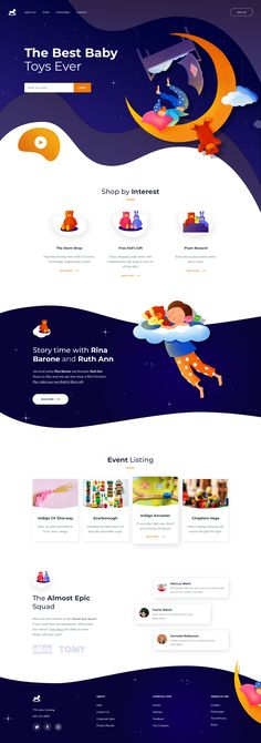 website home page landing design web design ui ux food restaurant catering full - Ui Ux Design, Cool Web Design, Web Design Mobile, Design Responsive, Web Design Tips, Web Design Trends, Web Design Company, Flat Design, Interface Design