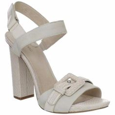 Dapulis Leather Textured Slingback Sandal