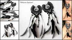 These macrame earrings was made for special occasion.For weddings :)