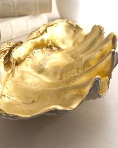 Golden Shell Bowl at Neiman Marcus.