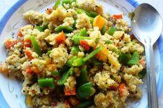 Cuscús con verduras, receta rápida con Thermomix