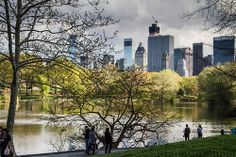 Springtime in Central Park by R.J. Caputo Photography