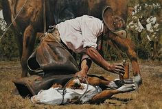 EDM Cowboy Art, Horse Art, Bradley Mountain, Edm, Cowboys, Westerns, Horses, Cartoon, Rio Grande