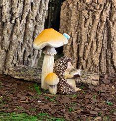 Brand New 2 Piece Fairy Garden Mushroom Duo Mummy And Baby Metal Die Cutter Set