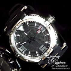 Police Mens Black Rubber Strap Raptor Watch - 13093JS-02  Online price: £140.00  www.lingraywatches.co.uk