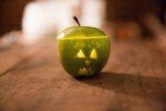 Apple-o-lantern ;D