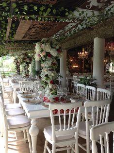 Diseño floral matrimonio,.mesa