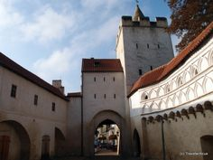 Inside the barbican of a gate named Marientor in Naumburg (Saale), Germany Rhineland Palatinate, Lower Saxony, North Rhine Westphalia, Barbican, Bavaria, Slovenia, Hungary, Gate, Travel Destinations