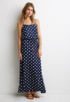 e319c6d7c1ad Contemporary Polka Dot Maxi Dress Polka Dot Maxi Dresses