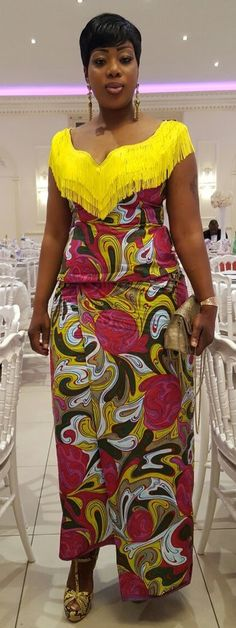 Classy Ankara Gowns For Functions - FashionSkout Latest African Fashion Dresses, African Print Dresses, African Print Fashion, African Dress, Ankara Fashion, Africa Fashion, African Prints, African Fabric, African Attire