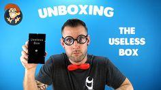 Unboxing van de Useless Box! https://youtu.be/633hMghNDpA