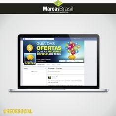 Redes Sociais – Guia das Ofertas > Desenvolvimento da página no facebook para o Guia das Ofertas < #facebook #marcasbrasil #agenciamkt #publicidadeamericana