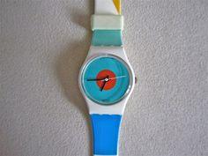 vintage swatch watch ~ Vintage? Does that make me vintage? lol