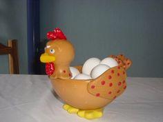 como hacer gallinas en porcelana fria - Buscar con Google