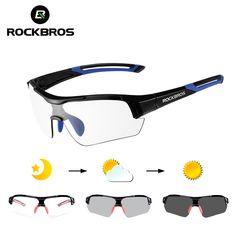 950fe972ec59b Comprar ROCKBROS Ciclismo Photochromic Óculos De Sol Eyewear UV400  Polarizada Óculos Dos Homens Das Mulheres de