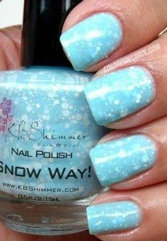 Frozen Snow Polish! Frozen Party