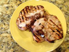 Grilled Pork Chops  - Are you are planning a cook-out for summer celebrations, including Fourth of July? Why not try something other than hamburgers and hotdogs?  || #KeepersMinistry