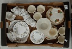 Collectors & General Auction – Lot 116 – A collection of tea ware to include…