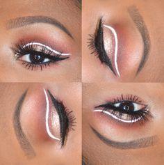 0427da08e63 Graphic Eyeliner Look using Colourpop Gel Liner in