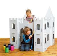 Dit kasteel is van stevig karton en zeer eenvoudig in mekaar te zetten. Je hebt…