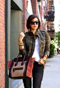 Falling for fall...love the jacket!!
