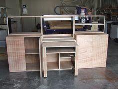 CNC cut modular furniture