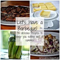 Darcie's Dishes: Let's Have a BBQ ~ THM style! 35 delicious recipes to help you stay on track at your next barbecue. All recipes are sugar free and most are low-carb.