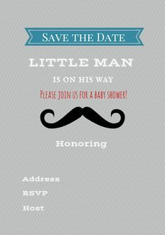 Free Printable Baby Shower Invitations - Boy - Girl ...