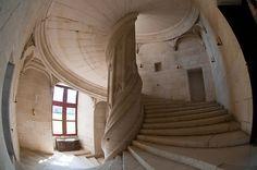 Chateau de la Rochefoucauld Stairway I by Chris Tarling