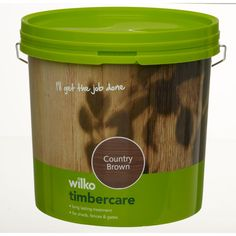 Wilko Timbercare Country Brown 5ltr at wilko.com