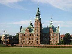Copenhague -El castillo-palacio de Rosenborg.