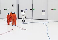 Space Project - Ergol #4, S1B clean room, Arianespace, Guiana Space Center [CGS], Kourou, French Guiana, 2011.