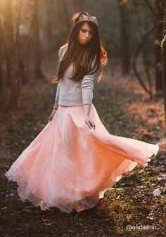 Tips on Doing Boho Winter Style - Glam Bistro - I love the pink skirt!