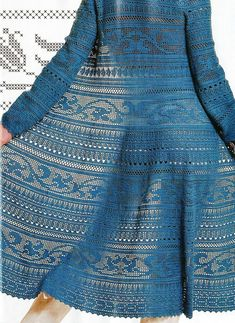 Captivating Crochet a Bodycon Dress Top Ideas. Dazzling Crochet a Bodycon Dress Top Ideas. Crochet Coat, Crochet Jacket, Crochet Cardigan, Zhurnal Mod, Russian Crochet, Irish Crochet, Crochet Skirts, Crochet Clothes, Filet Crochet Charts