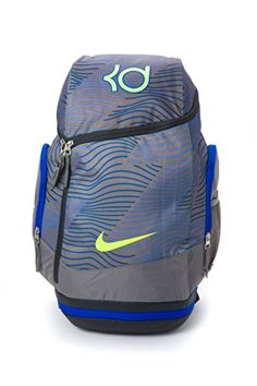 official photos 0a763 03827 Nike KD Max Air Backpack Metallic Pewter Volt Nike Elite Backpack, Nike  Heels,